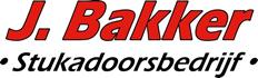 J.Bakker stukadoor logo